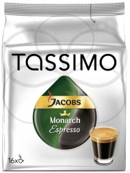 Кофе Tassimo Jacobs Monarch Эспресcо